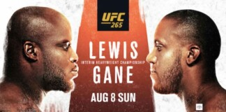 UFC 265 Live Results