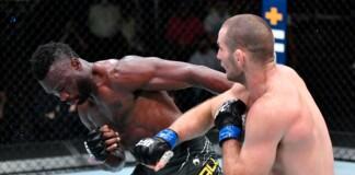 Uriah Hall vs Sean Strickland at UFC Vegas 33