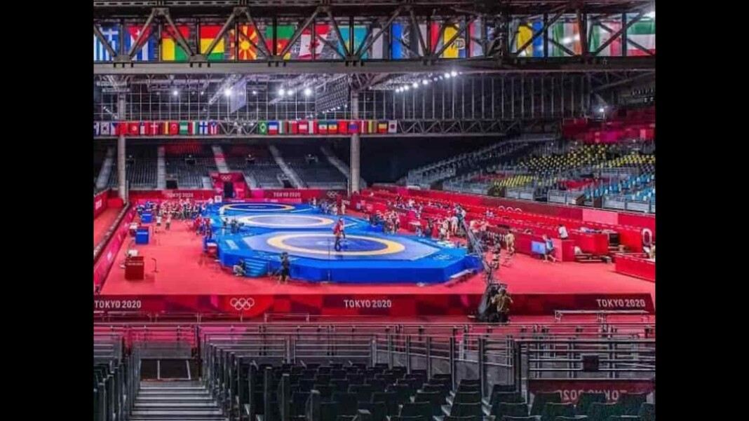 Wrestling at Tokyo Olympics