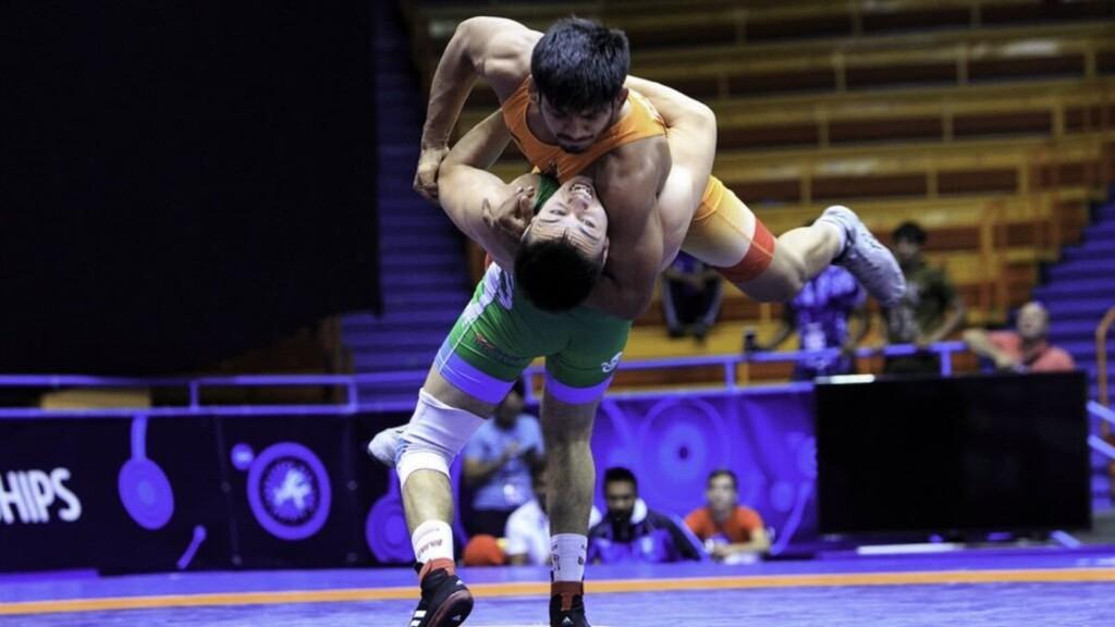 Yash at World Junior Wrestling Championships