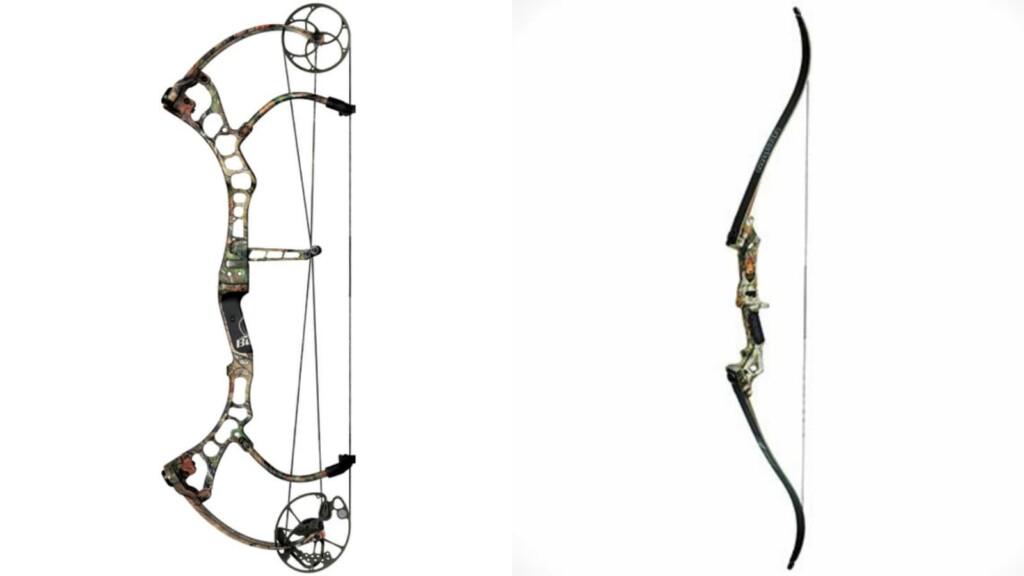 compound bow; Recurve Bow