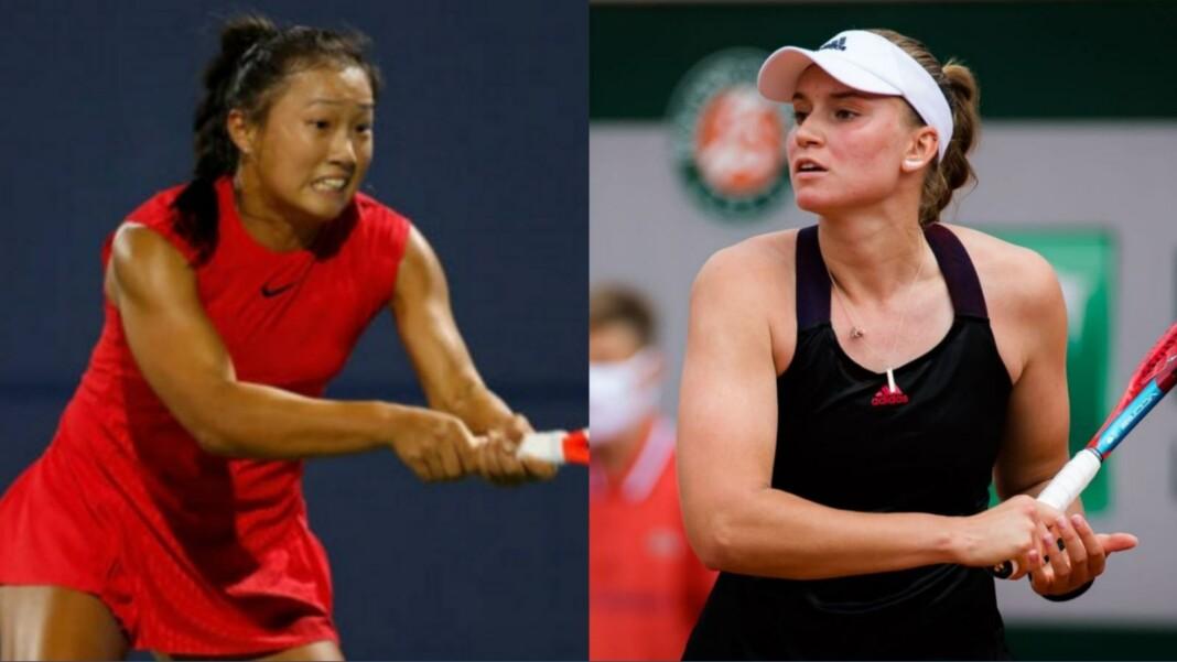 Elena Rybakina and Claire Liu will clash at the WTA Silicon Valley Classic 2021
