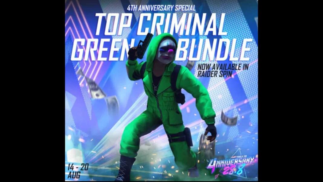 Green Criminal Bundle In Raider Spin