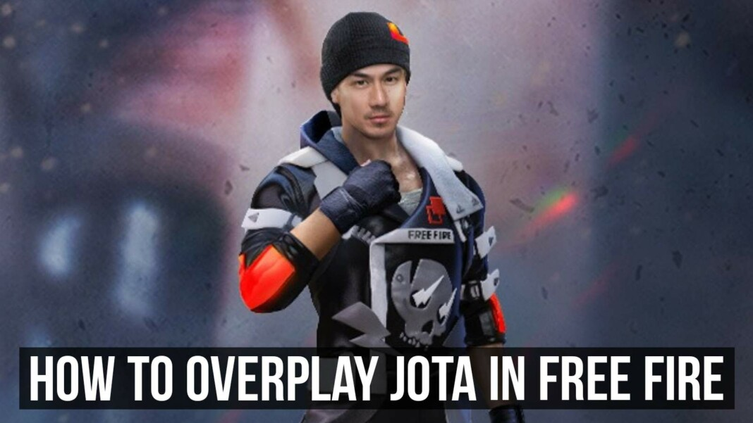 Jota in Free Fire aftr ob29 update
