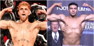 Jake Paul and Tommy Fury