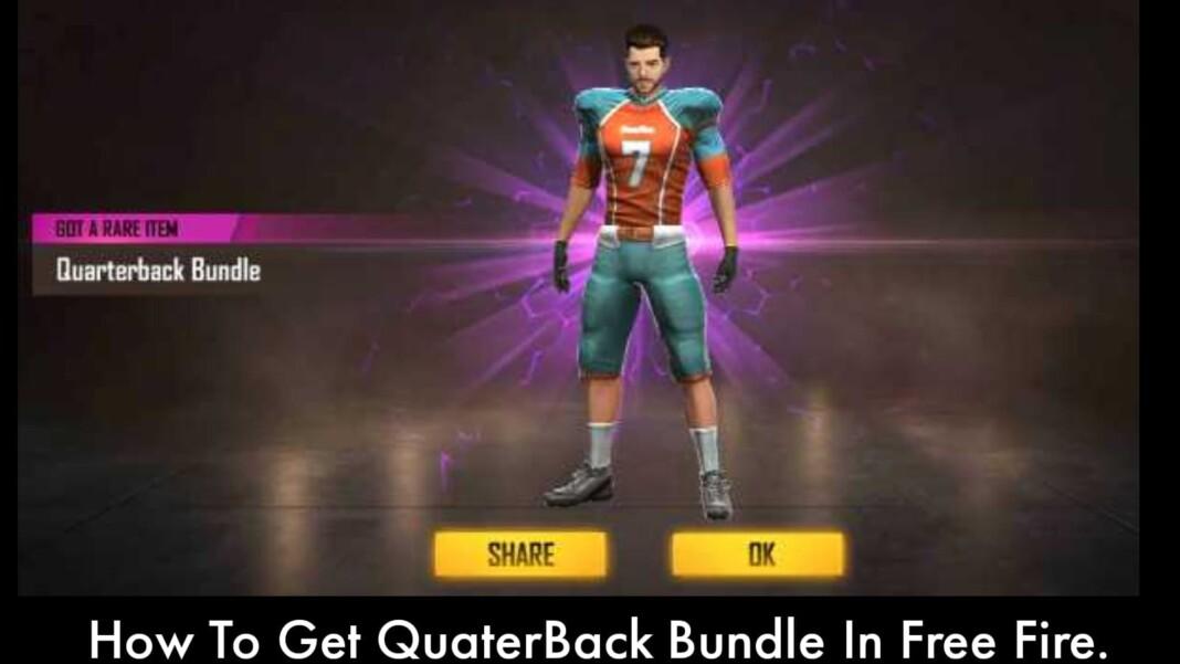 Get QuarterBack Bundle In Free Fire