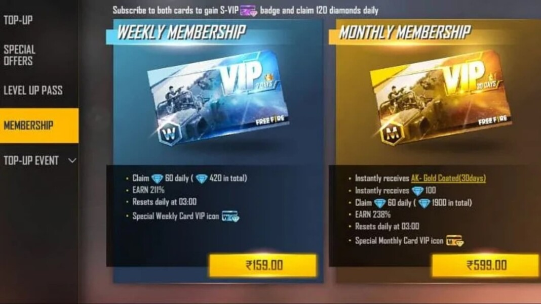 S-VIP Badge In Free Fire