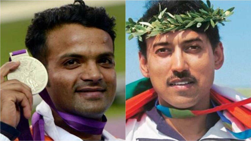 Vijay Kumar and Rajyavardhan Singh Rathore