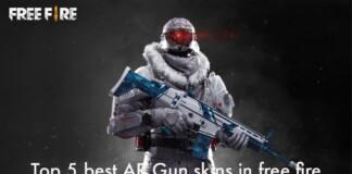 Top 5 Best AR Gun Skins In Free Fire