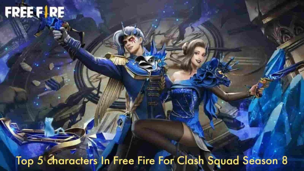 Best Characters In Free Fire