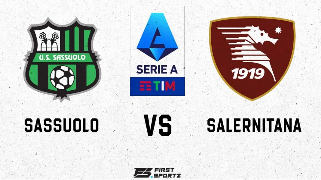 Sassuolo vs Salernitana