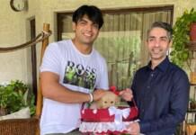 Abhinav Bindra and Neeraj Chopra