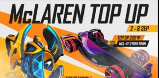free fire racer top up event