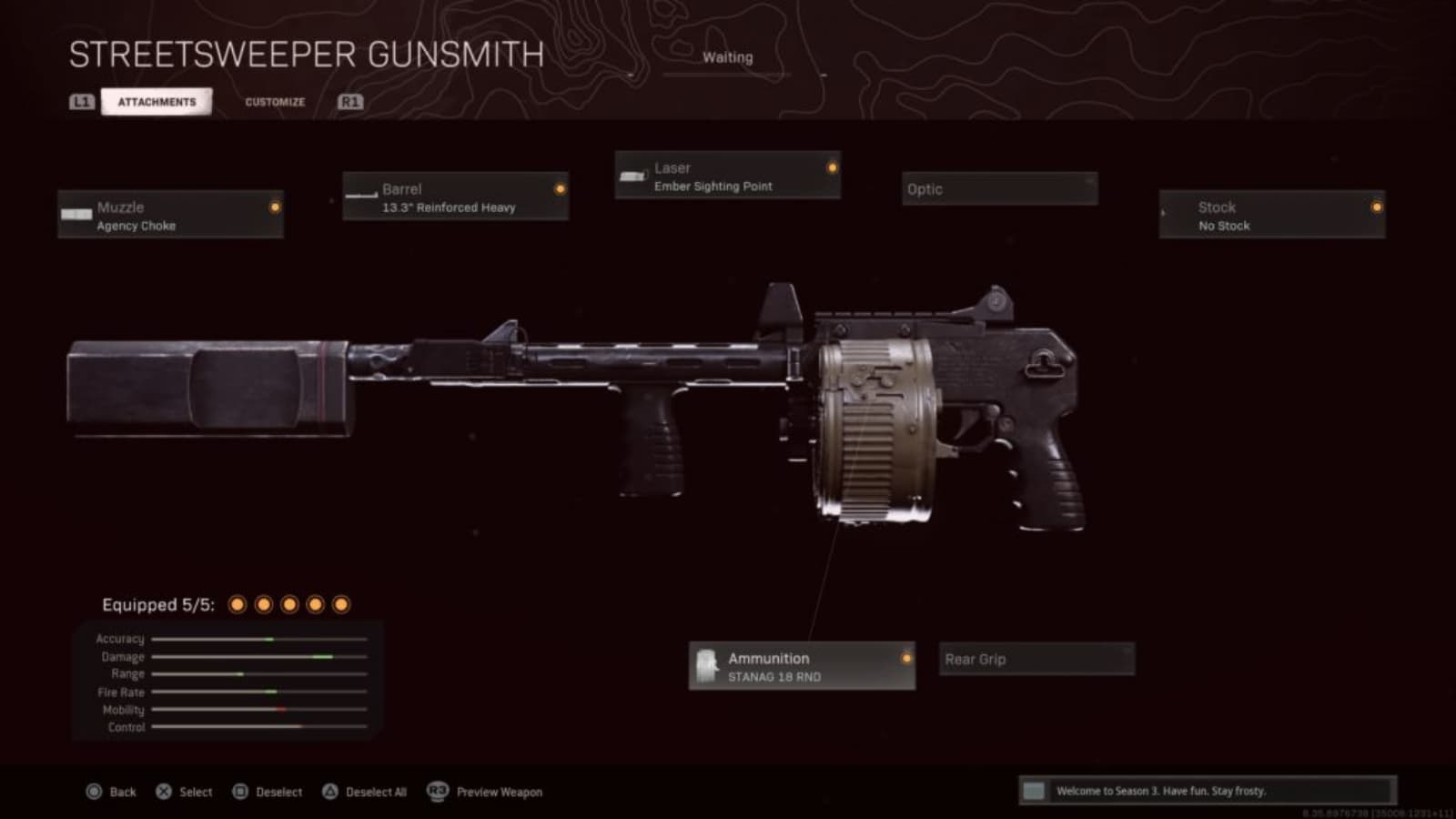 The Best Streetsweeper Warzone Loadout