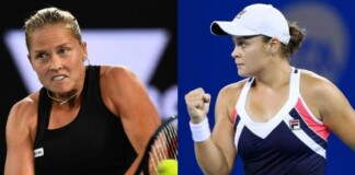 Shelby Rogers and Ashleigh Barty