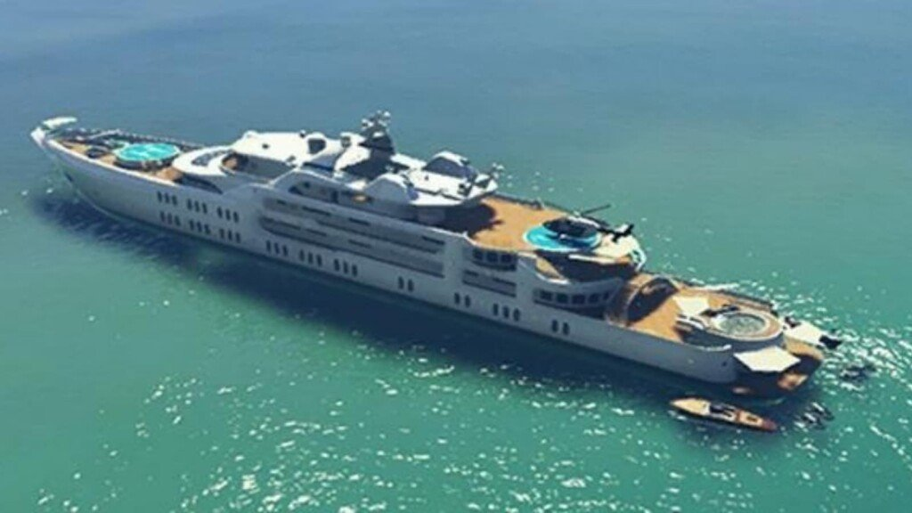 Different types of yachts in GTA 5 explained