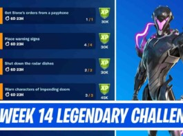 Fortnite Season 7 Week 14 Legendary Quests: How to Complete New Challenges