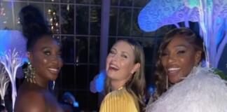 Venus Williams, Maria Sharapova, and Serena Williams