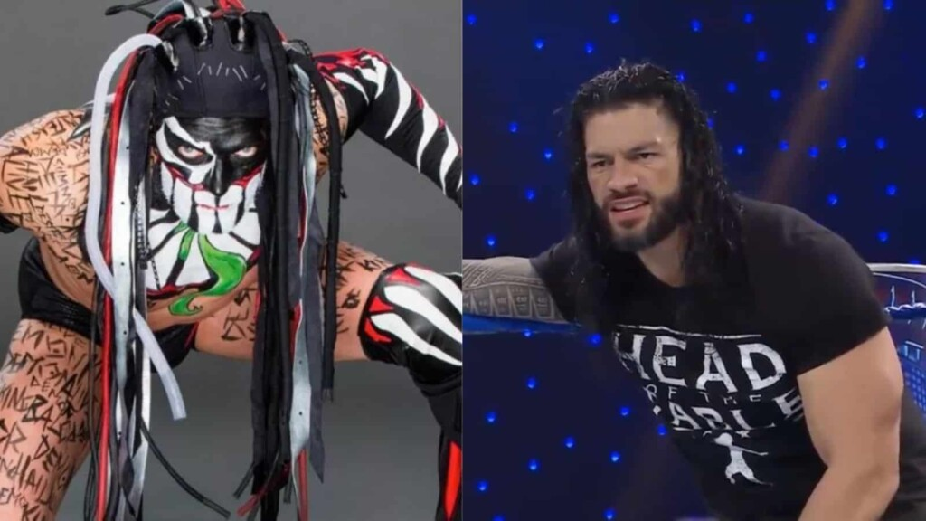 The Usos helped Roman Reigns win the Universal Championship match