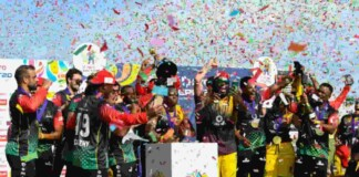 St Kitts and Nevis Patriots won CPL 2021 title