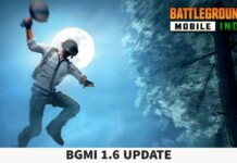BGMI 1.6 Update release date for Android and iOS devices officially revealed