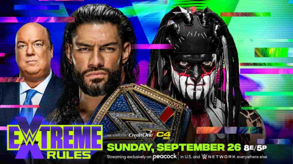 Finn Balor will challenge Roman Reigns at Extreme Rules