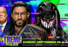 The Demon Finn Balor was defeated by Roman reigns at Extreme Rules 2021