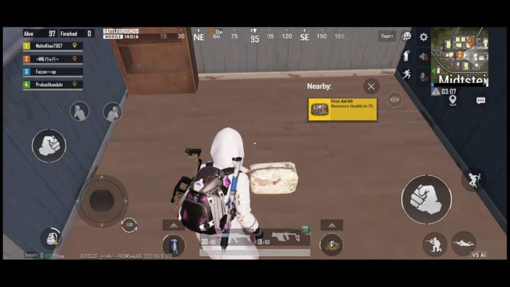 BGMI 1.6 Update: How to play VS AI mode in BGMI?