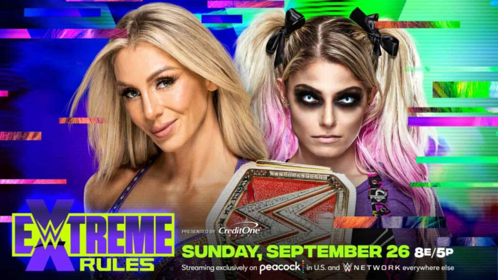 Alexa Bliss will challenge Charlotte Flair at Extreme Rules
