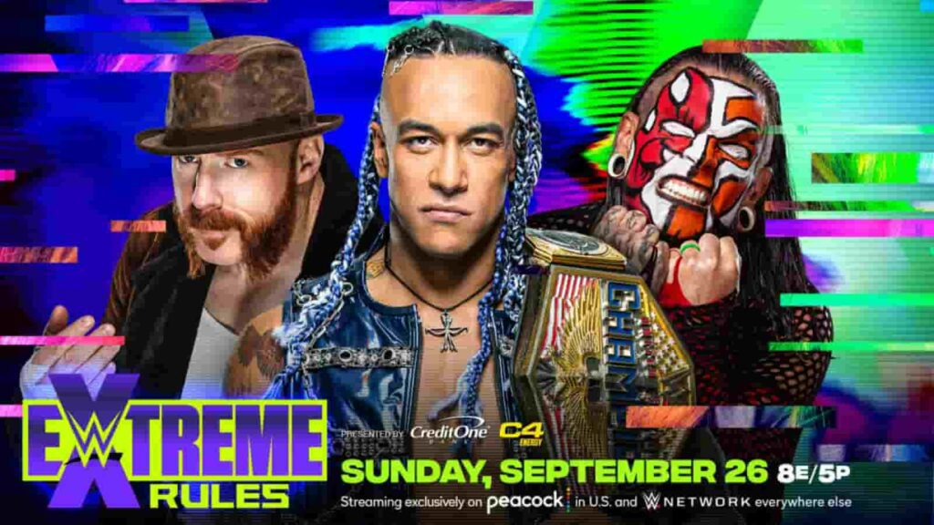 Jeff Hardy and Sheamus will challenge Damian Priest at Extreme Rules