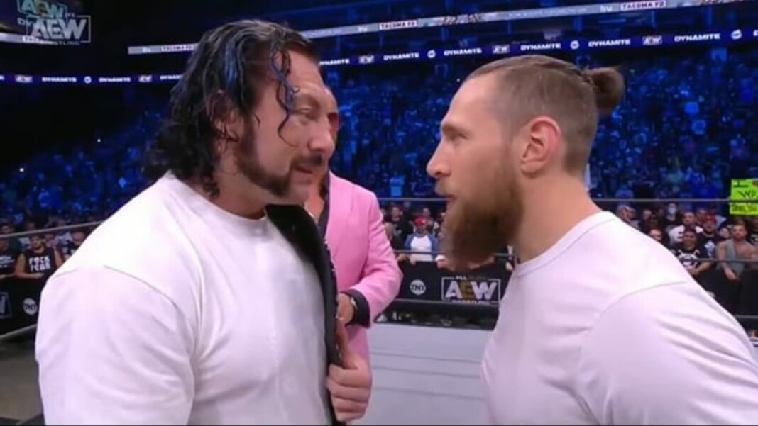 Bryan Danielson vs Kenny Omega ended in a time-limit draw