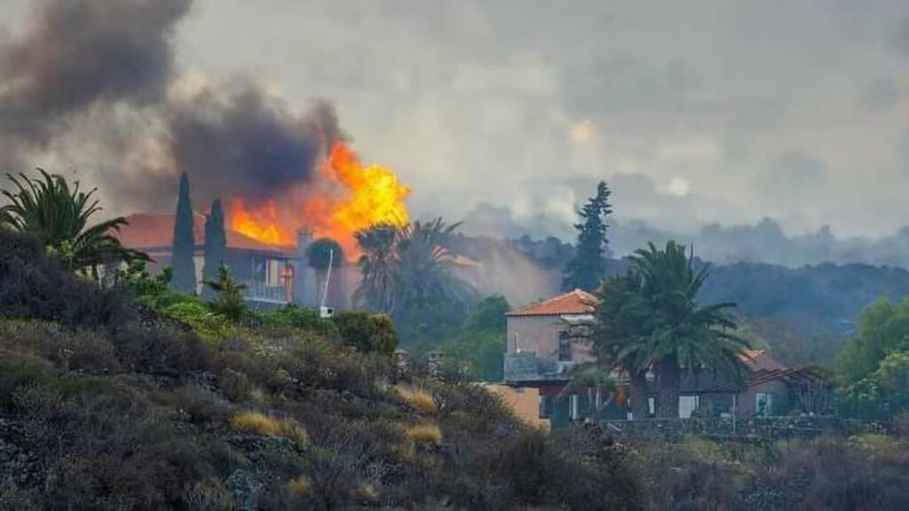 Volcanic eruption in La Palma