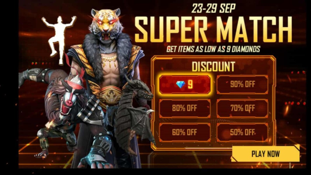 free fire supermatch event