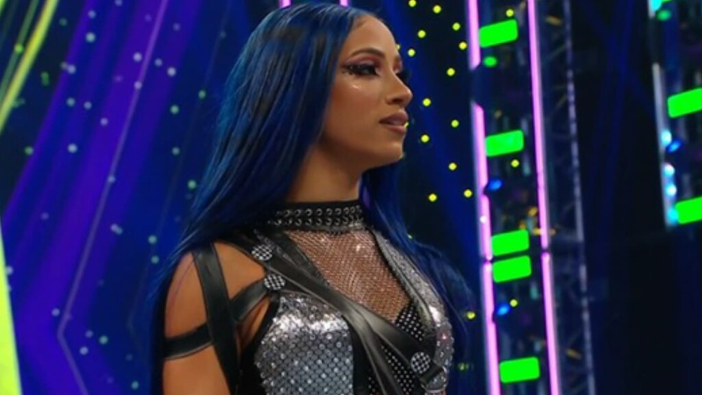 Sasha Banks returned at Extreme Rules 2021