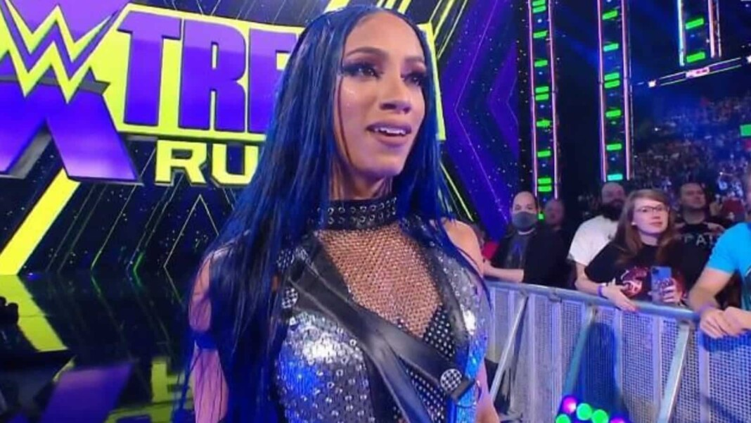 Sasha Banks returned and attacked two top women at Extreme Rules 2021