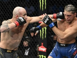 Alexander Volkanovski vs Brian Ortega UFC 266