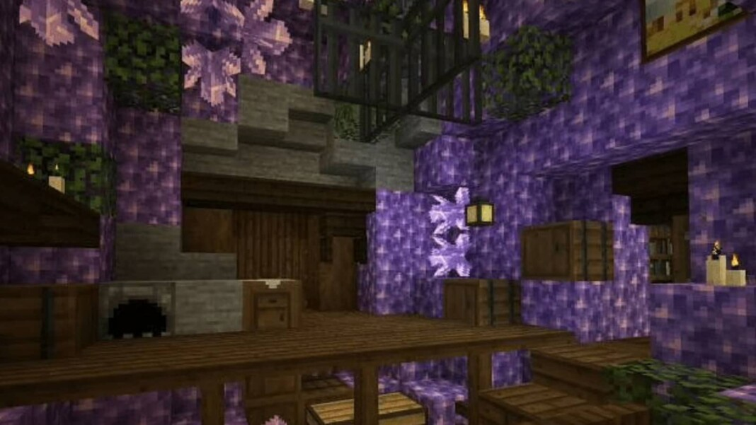 Amethyst in Minecraft