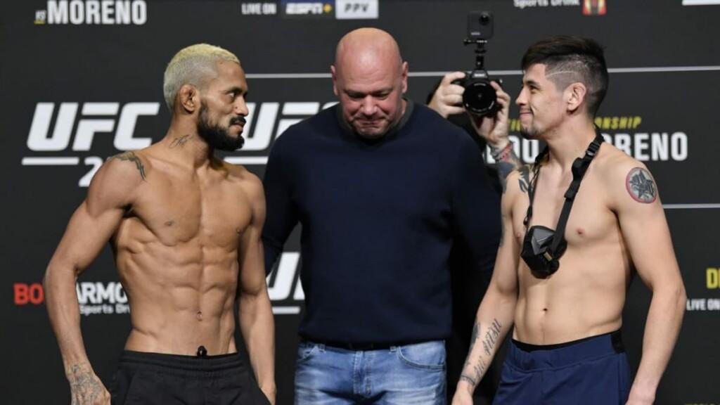 UFC 269 Brandon Moreno Deiveson Figueiredo