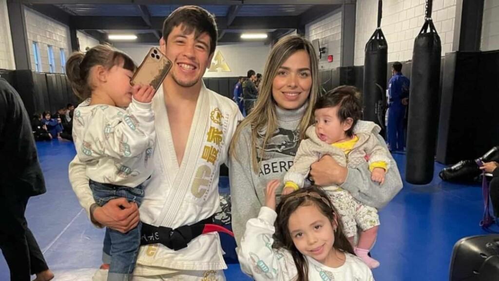Brandon Moreno family