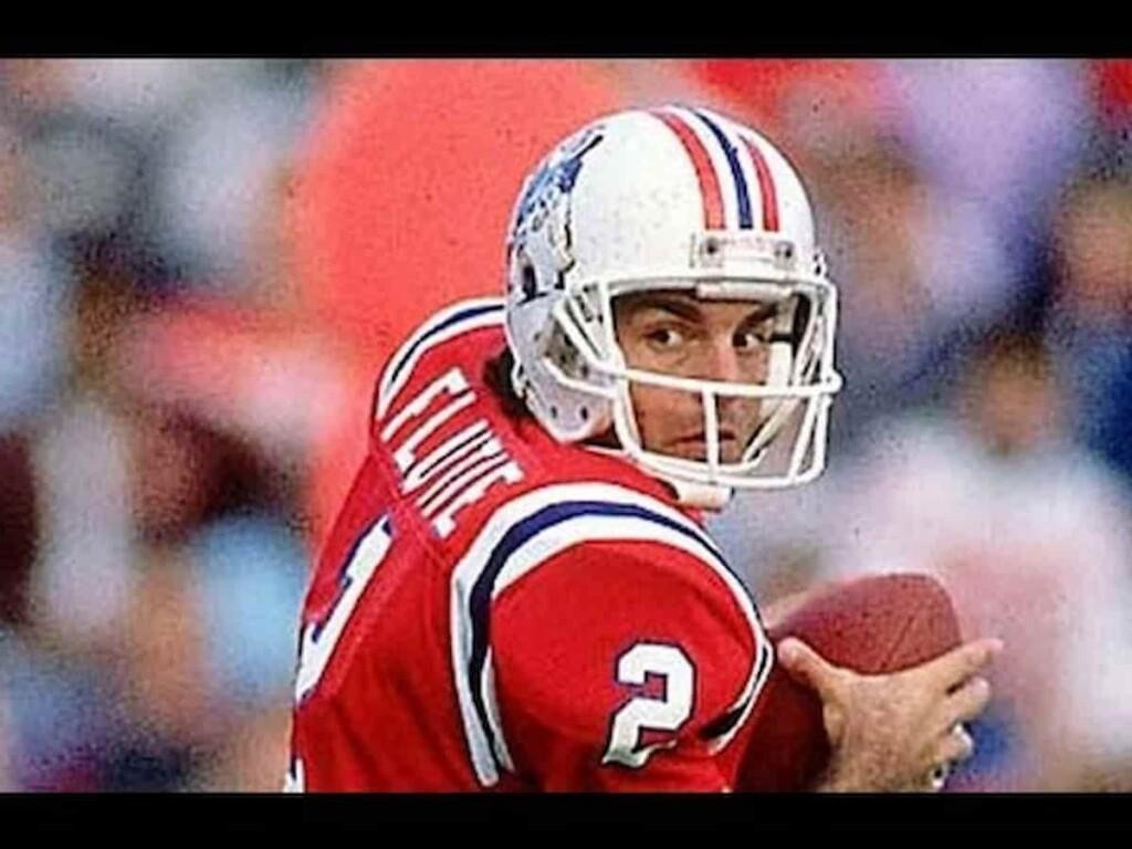 Doug Flutie New England Patriots 1 - FirstSportz