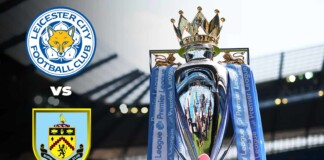 Leicester City drew with Burnley s Vardy scores late