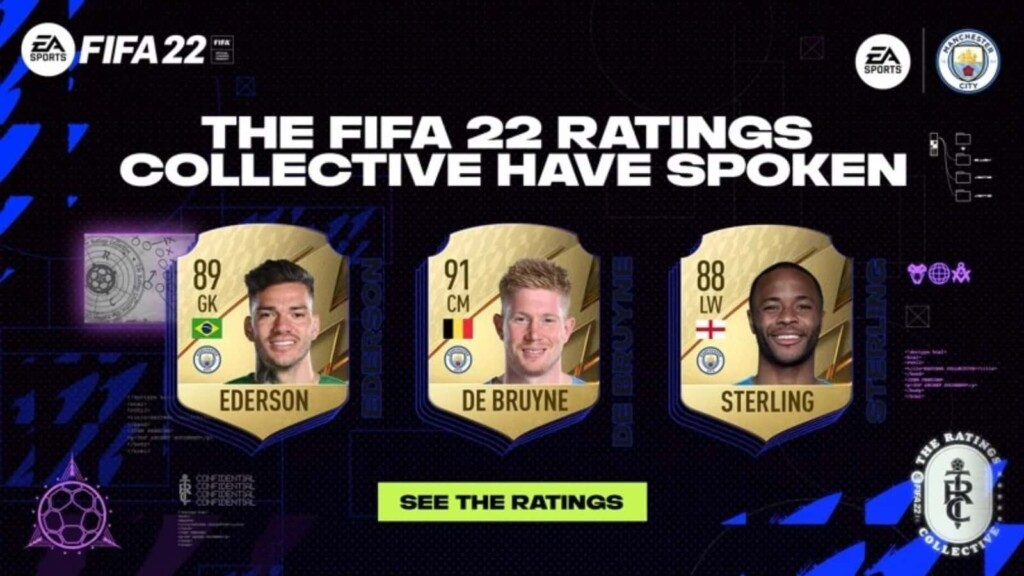 FIFA 22 Manchester City player ratings