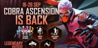 Free Fire Cobra Ascension
