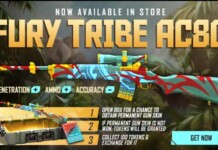 Fury Tribe AC80 in Free Fire