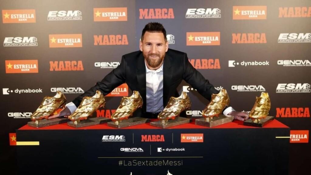 Golden Shoe Winners