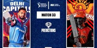 DC vs SRH Dream11