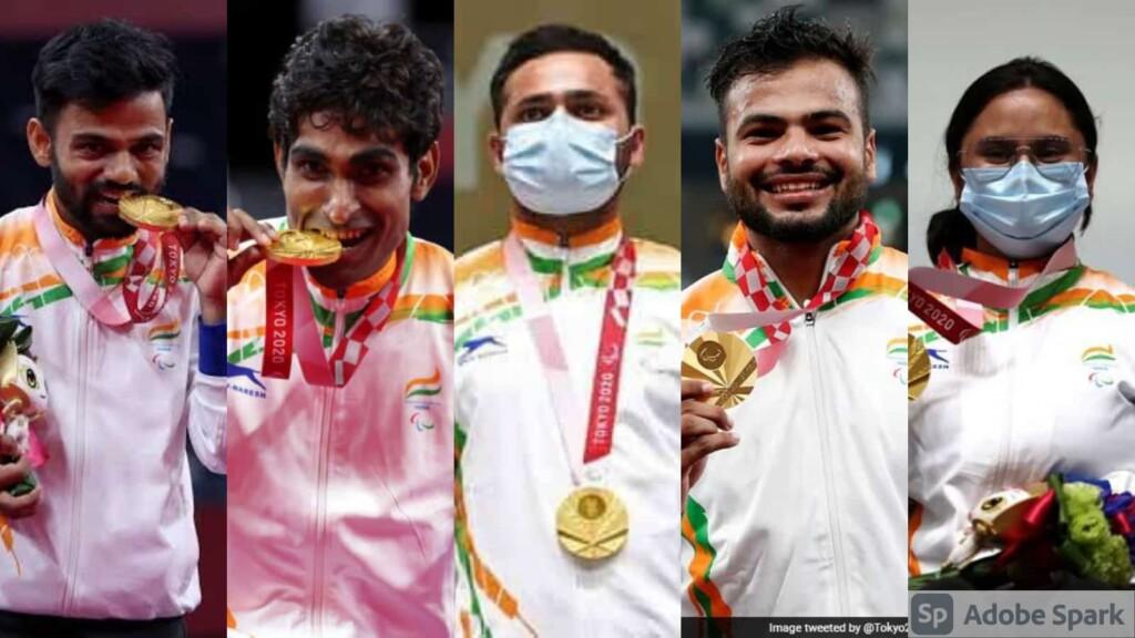 India's gold medal winnrers