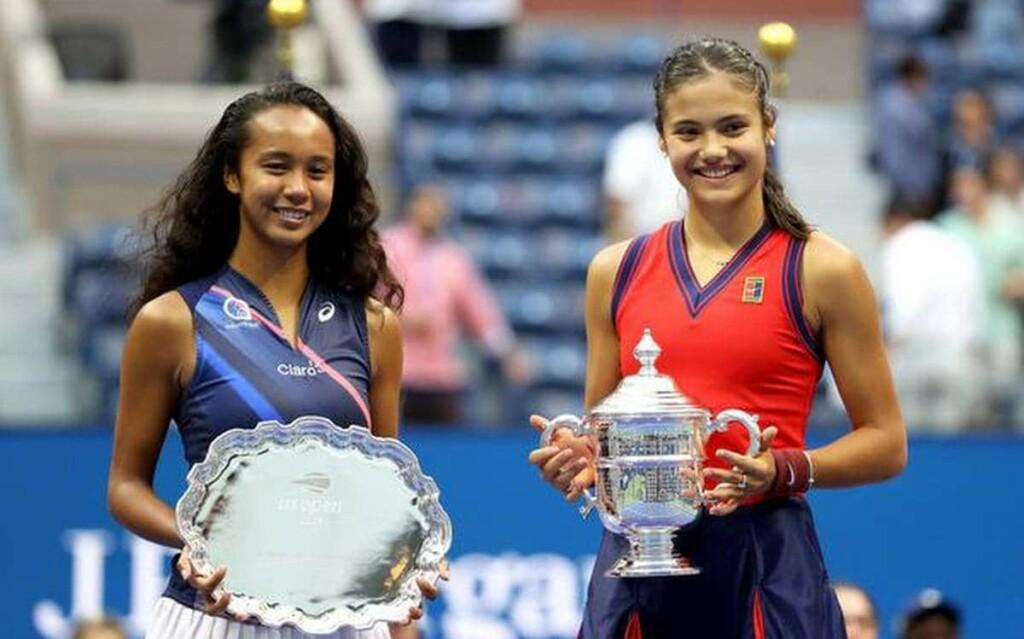 Leylah Fernandez and Emma Raducanu make big jumps in the WTA Rankings post the US Open 2021