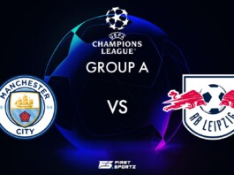 Manchester City vs RB Leipzig