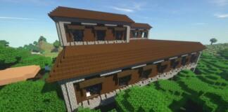 Minecraft Woodland Mansion